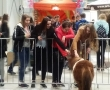Miłośnicy zwierząt w na targach zoologicznych w Nadarzynie