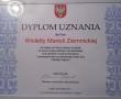 Pani Wioletta Ziemnicka nagrodzona dyplomem uznania przez Marszałka Województwa Mazowieckiego