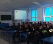 Wizyta klas logistycznych w Szkole Głównej Służby Pożarniczej