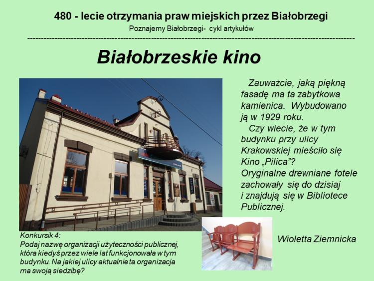 Białobrzeskie kino
